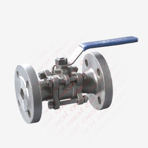 Three Pieces Flanged Ball Valve