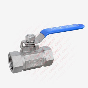 One Piece Patent Ball Valve