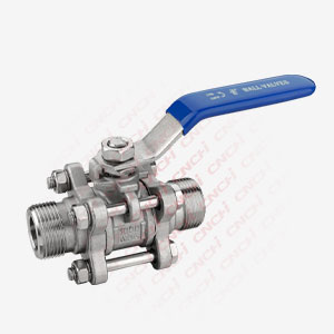 3PC Outside thread Ball Valve