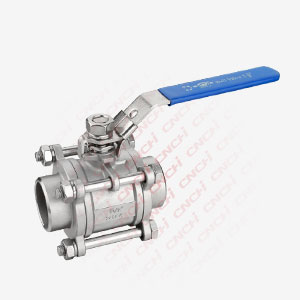 Three Pieces Welded Ball Valve