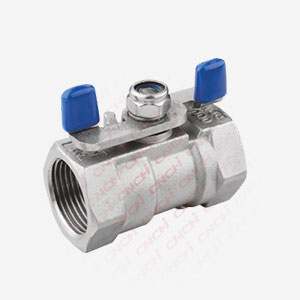1PC Ball Valve with  Butterfly Handle