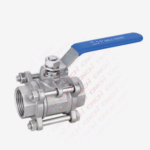 3PC Inside thread Ball Valve